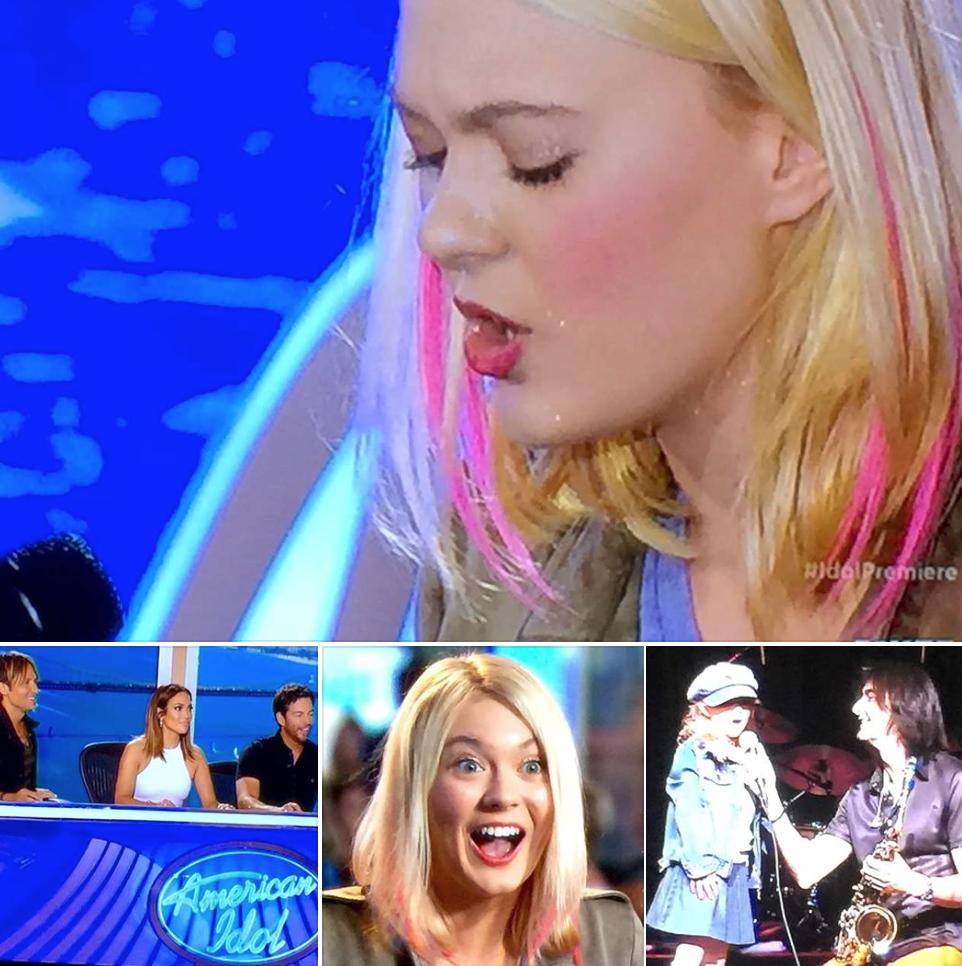 Olivia American Idol Jan 7