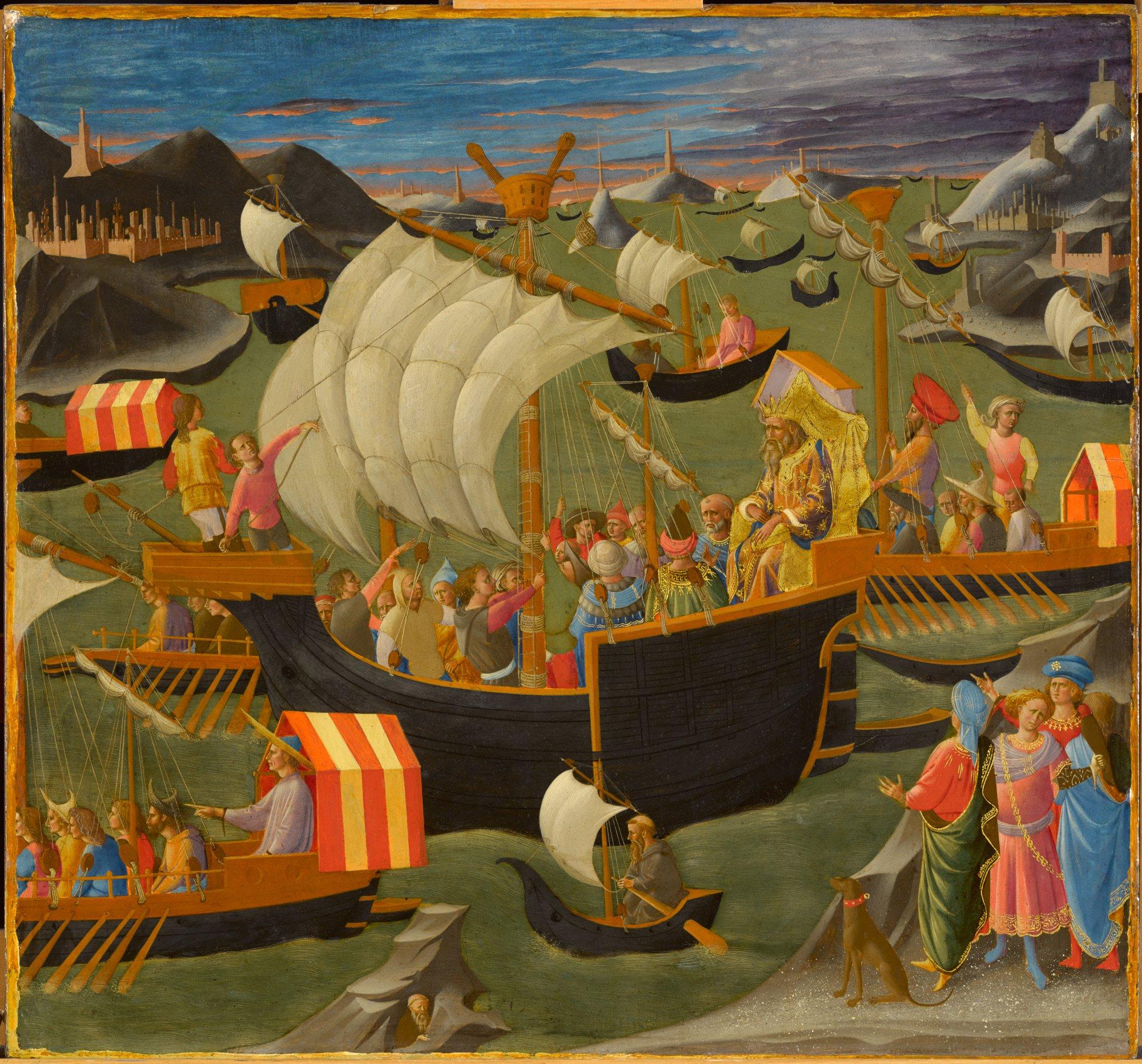 Pesellino Journey of the Magi 1440-45.jpg