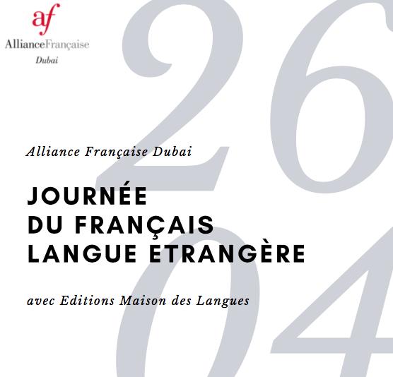 Alliance française de Dubaï - Journée du français langue étrangèreAteliers pour professeurs de FLE de 2 X 1h30:Challenges à Paris, make Paris yours in French classes