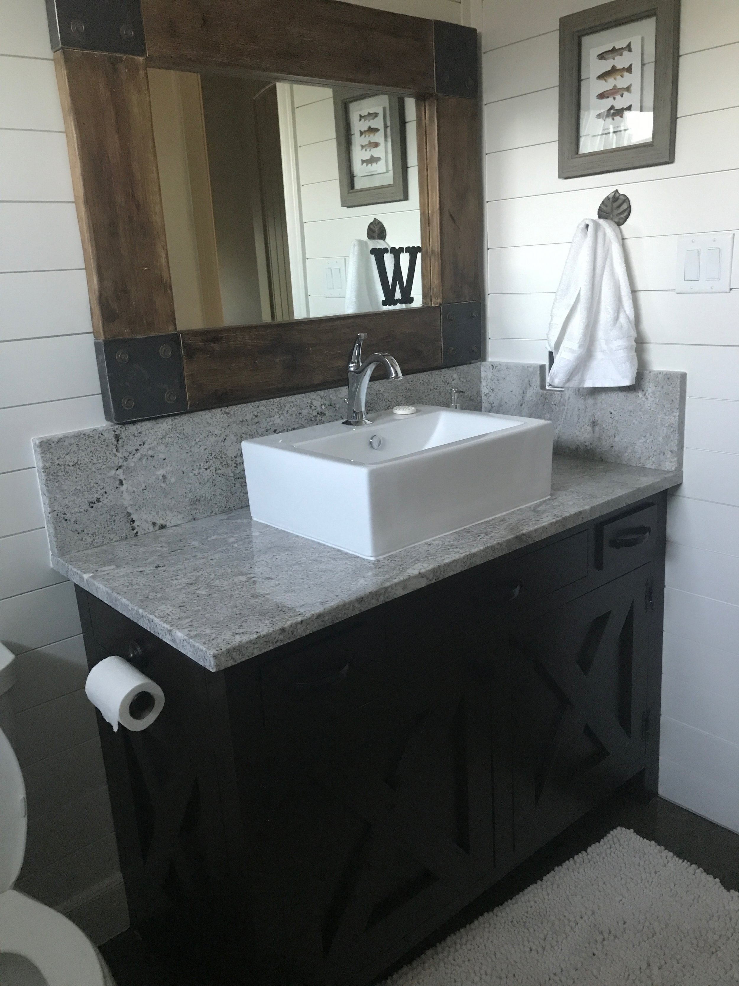 Guest Bathroom Renovation Tomball