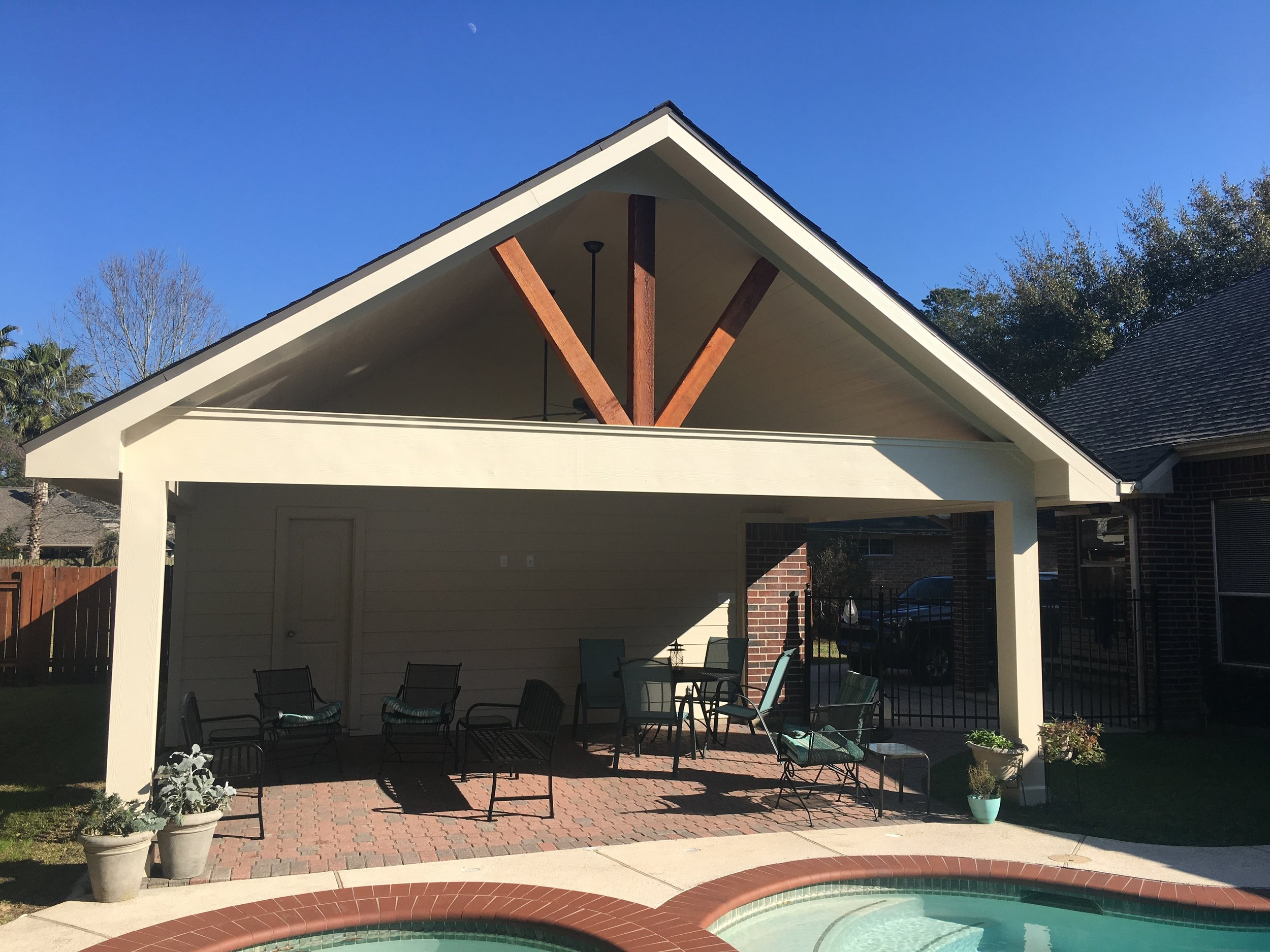 Patio Cover in Tomball, TX