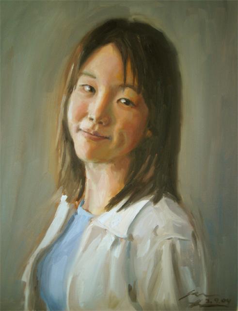Betty, 2004, oil