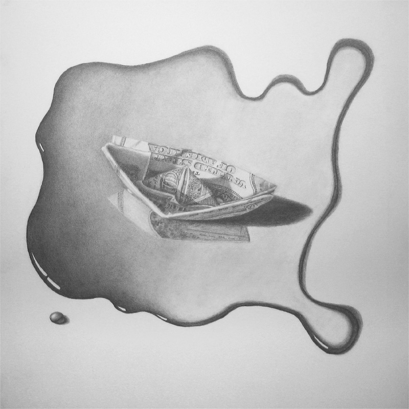 my old pencil drawing done in 2003