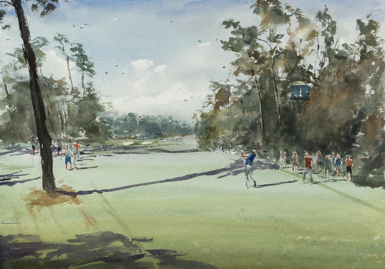 Augusta Nation Club - No. 18 Hole, Holly