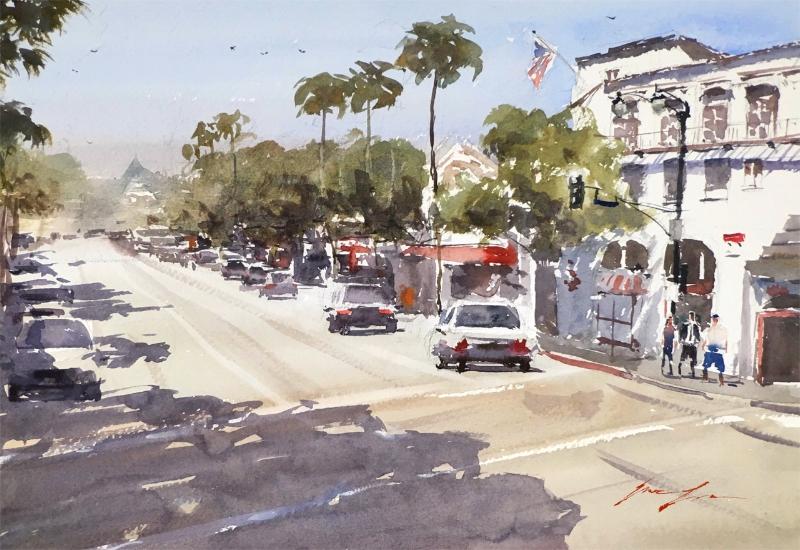 Hollywood Blvd - 16 x 11
