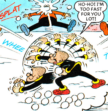 From Bully Whizz, Beano Book, 1999