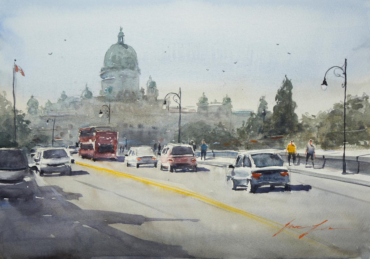 Government Street, Victoria BC