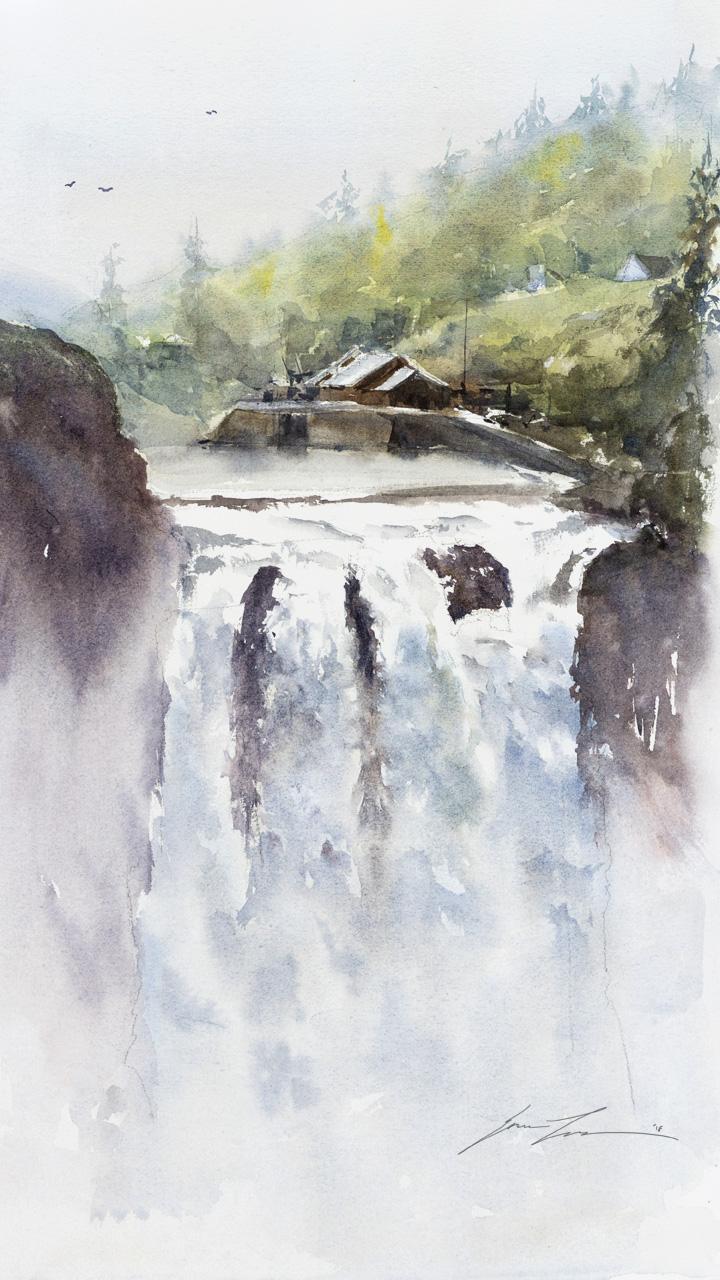 Snoqualmie Falls - 12 x 16