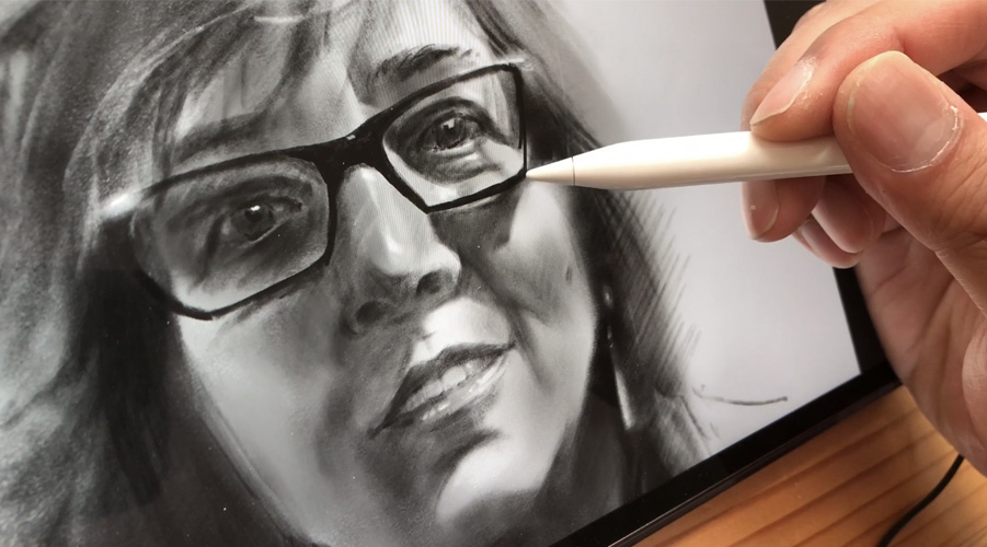 20% off my new digital charcoal commission, keep reading for more detail