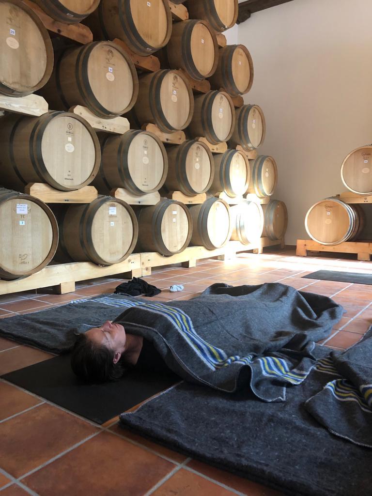 savasana wijnvaten