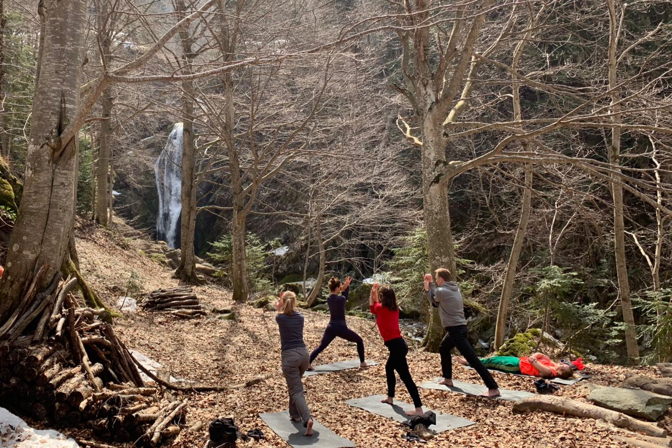 yoga waterval