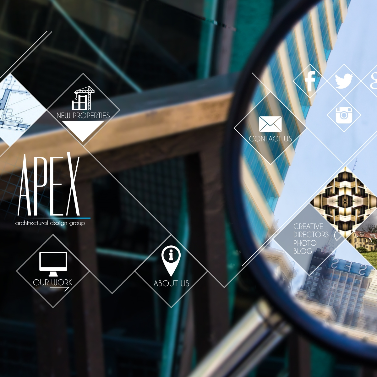 APEX ARCHITECTURAL WEBSITE