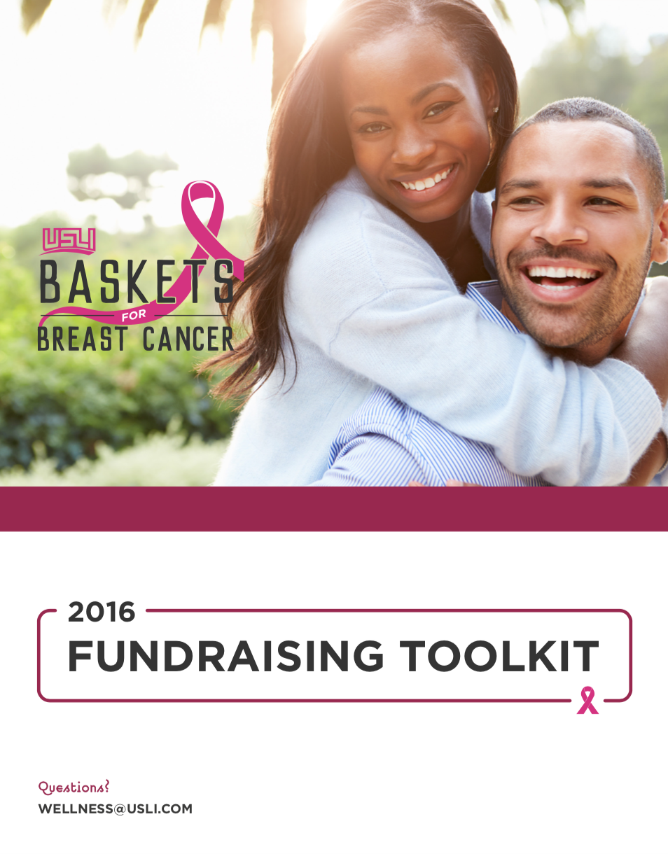 Fundraising Toolkit - Baskets for Breast Cancer