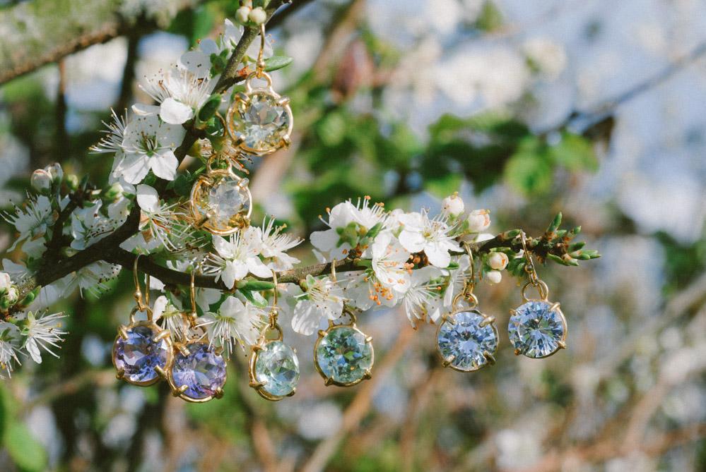 Silver May Earrings