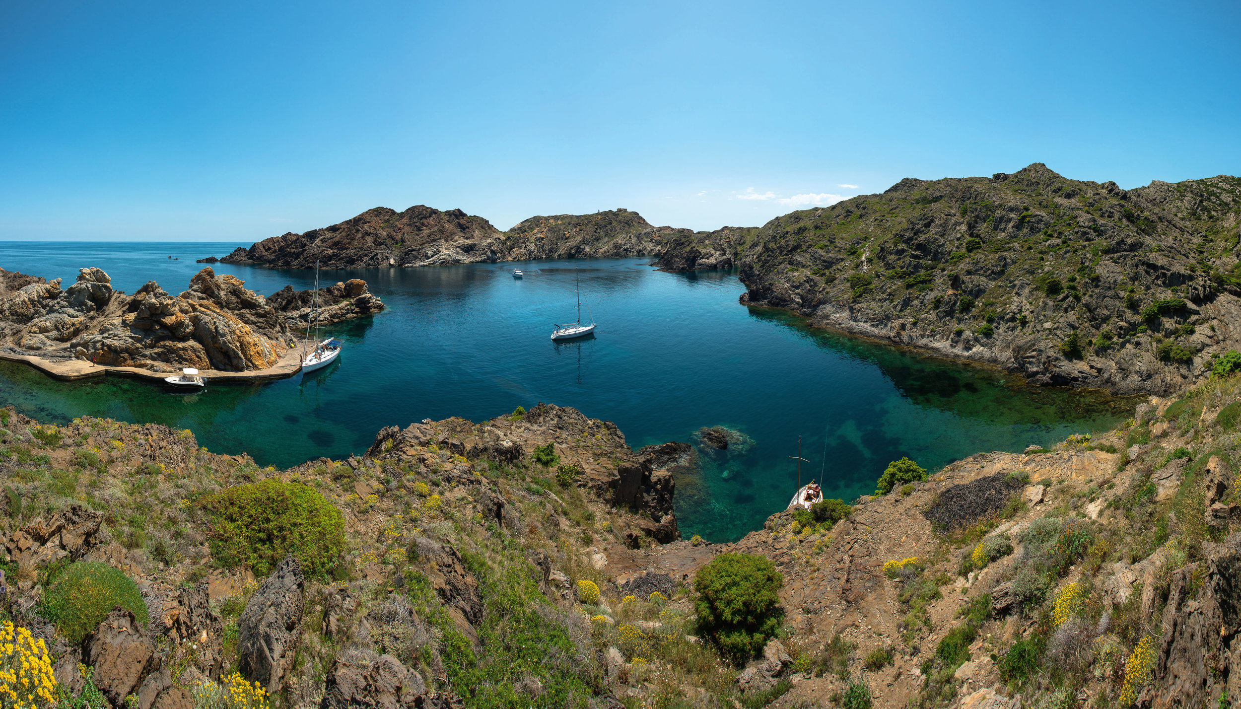 Parque Natural Cap de Creus. © J. M. Guasch. Archivo Imágenes PTCBG.