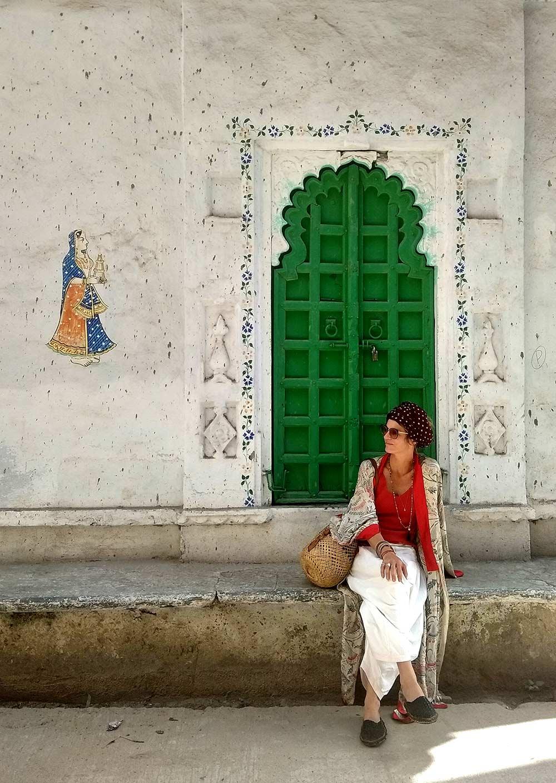 Alexeja in Devigarh Village.