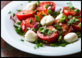 Cherry Tomato Mozzarella Salad