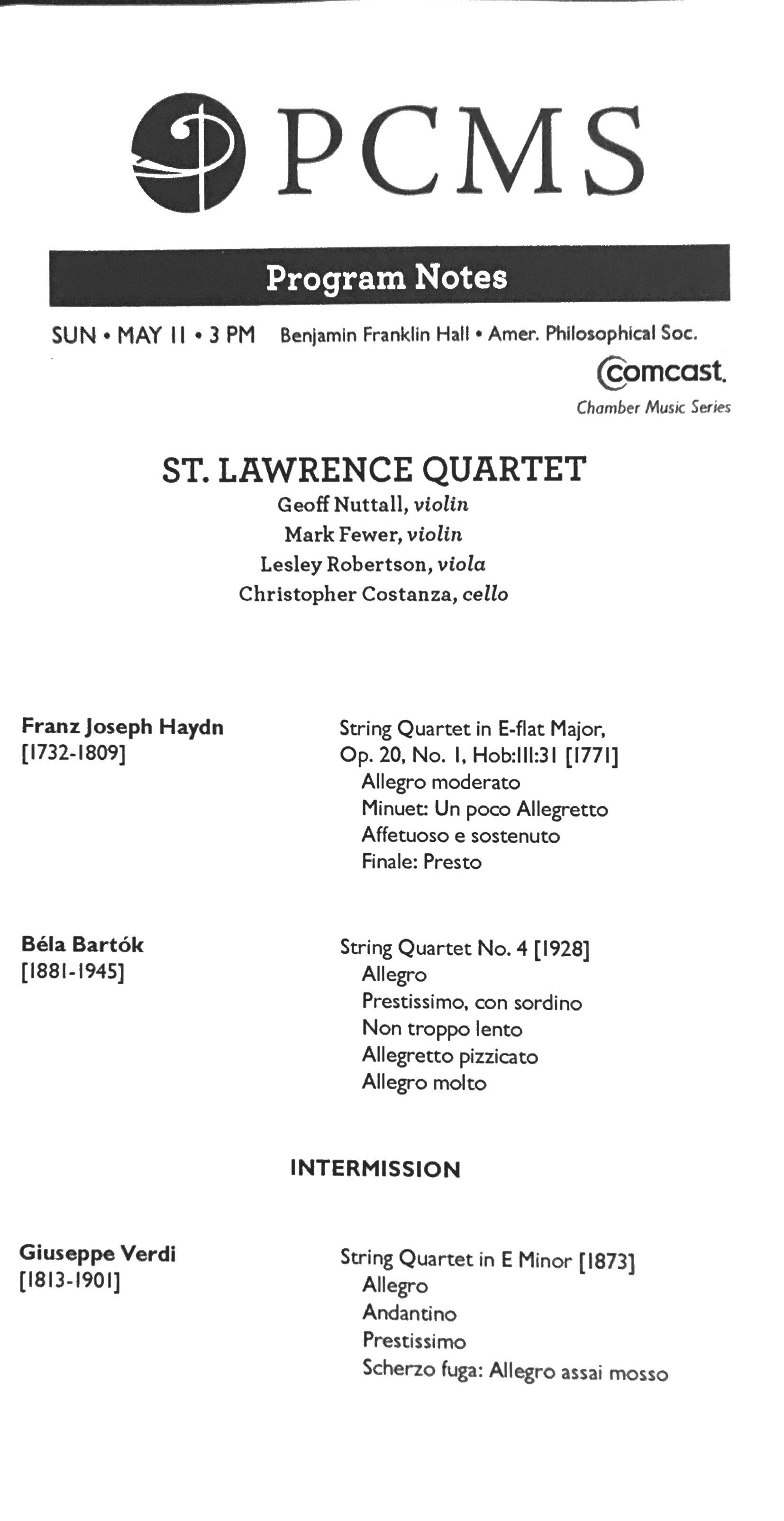 Christopher Costanza - SLSQ Philadelphia Chamber Music Society, 5-11-14 2.jpeg