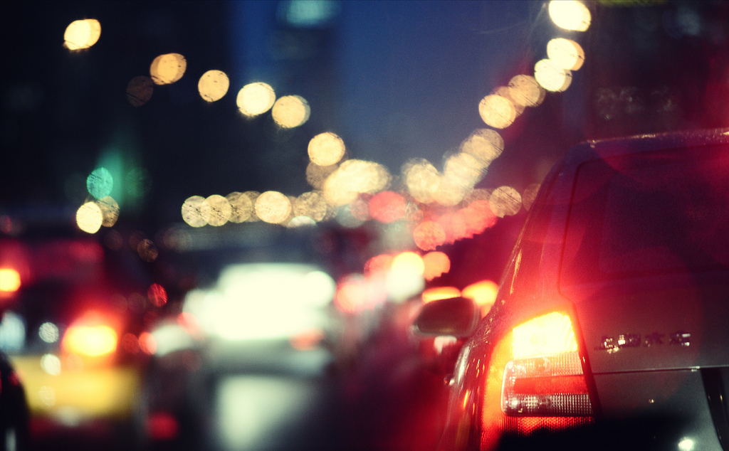 """Traffic"" by Jonathan Kos-Read, licensed under CC BY 2.0"