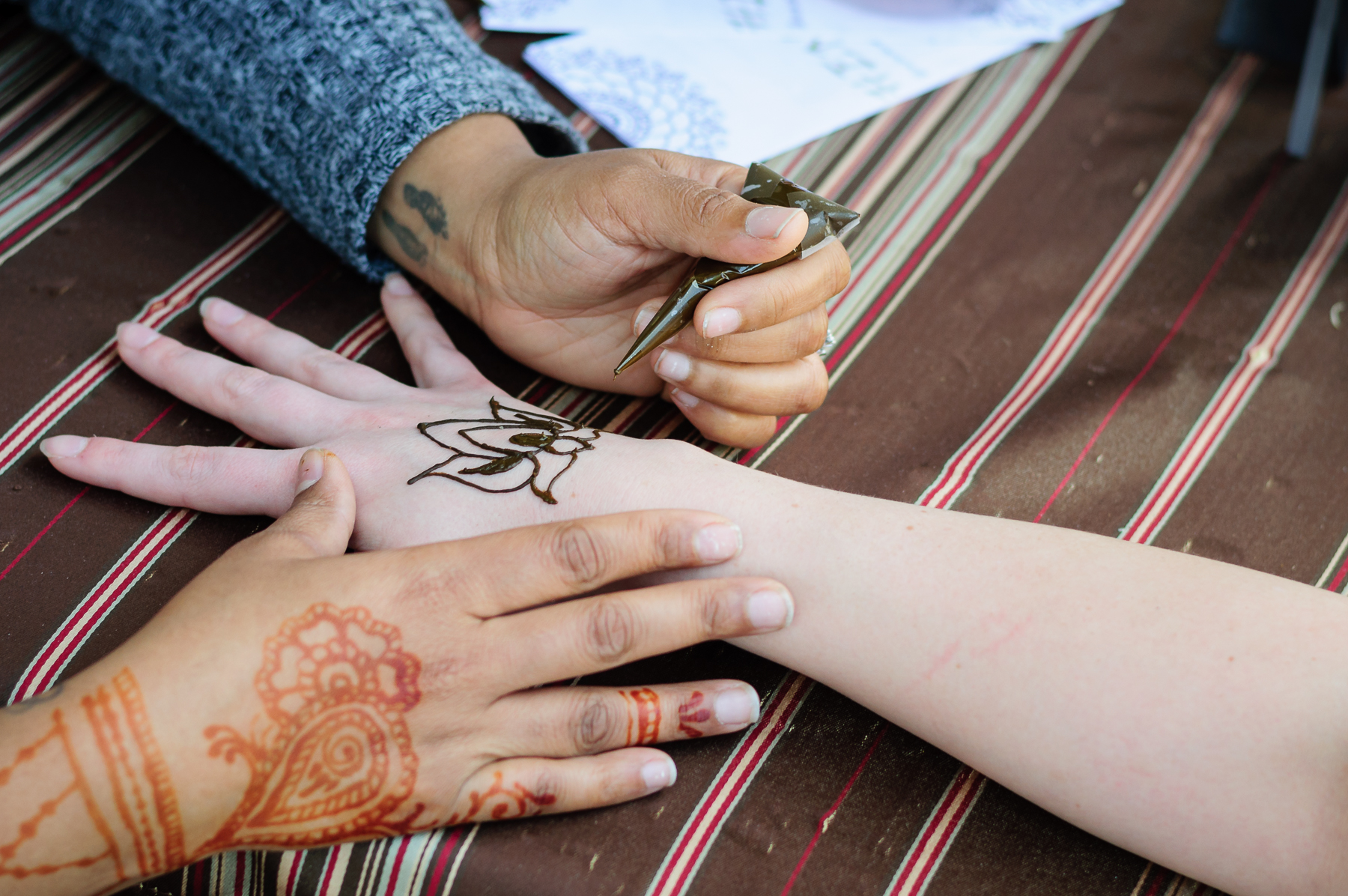 The art of Henna has been practiced for thousands of years.
