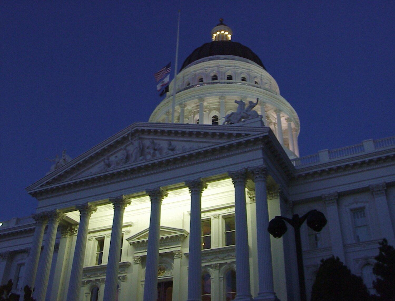 State Capitol of California   Sacramento, CA.
