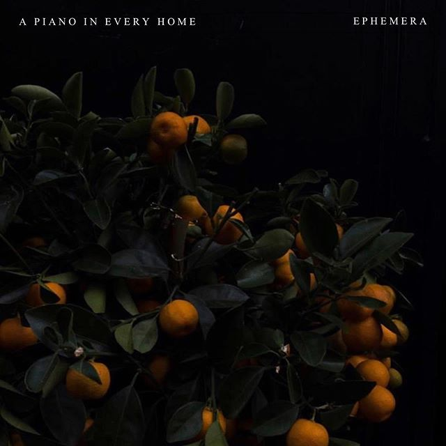 And then three years later, there is Ephemera 🍊. Thank you all so much for your support, means the world. Enjoy your Friday, while listening to our new record of course 😏