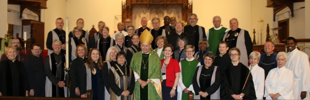 Normal   0           false   false   false     EN-US   X-NONE   X-NONE                                                                                                                                                                                                                                                                                                                                                                       Vergers from the Diocese of Atlanta pause for a photo at their June 4 summer assembly in Rome with Bishop Keith Whitmore,   and The Rev. Janice Bracken Wright. In front with the bishop are Lorie Tola and Suzie Whitmore.    Photo: Curt Yarbrough
