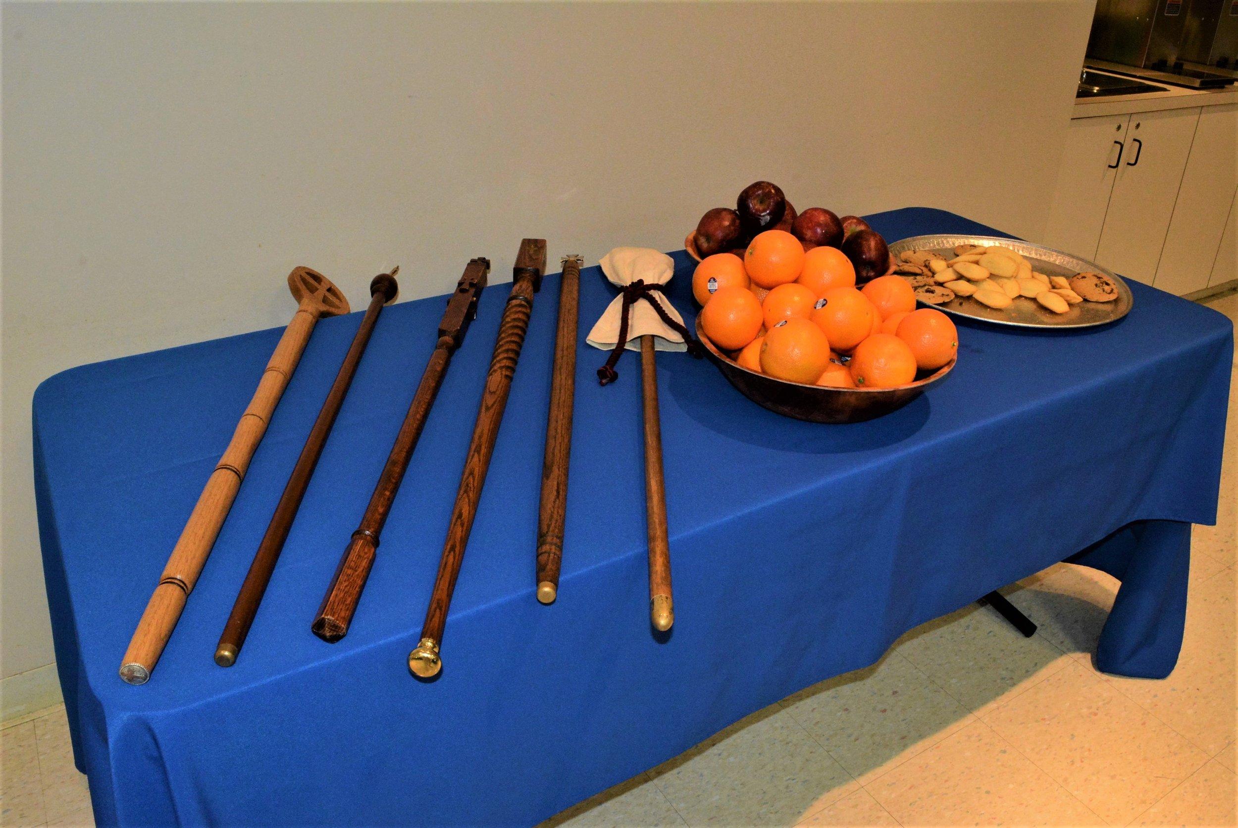 Verges and dessert  Photo: Martha-Sue Blythe