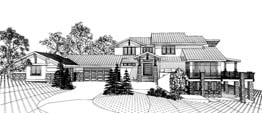 cAMDEN 4162   4162 Square Feet  4 Bedrooms - 4.5 Baths  120' Wide - 87' Deep  CoNTEMPORARY OR MODERN HOME PERFECT FOR LOT WITH PANORAMIC OR CORNER VIEWS