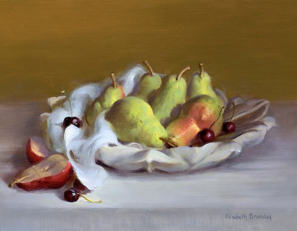Green Pears and Cheeries