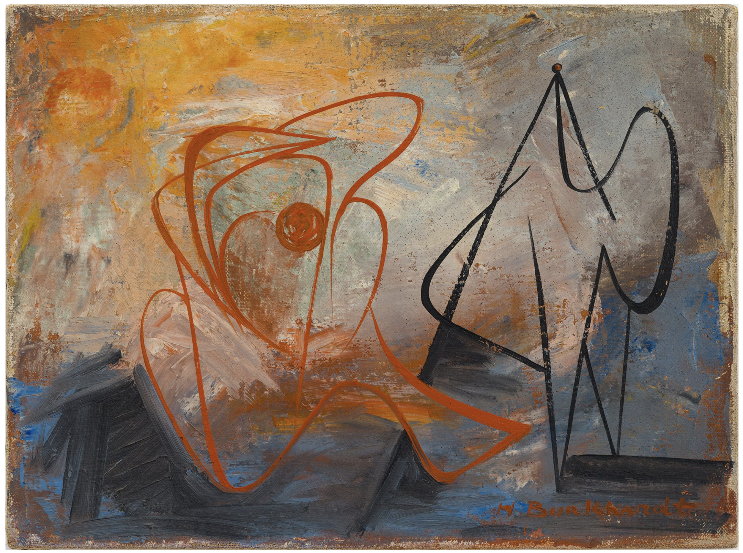 Untitled, 1940 (oil on canvas)