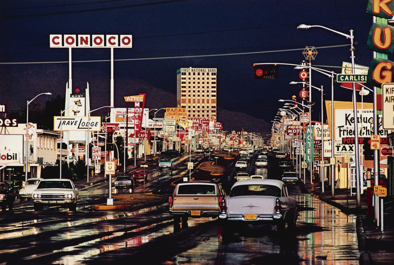 Route 66, Albuquerque, New Mexico,  1969