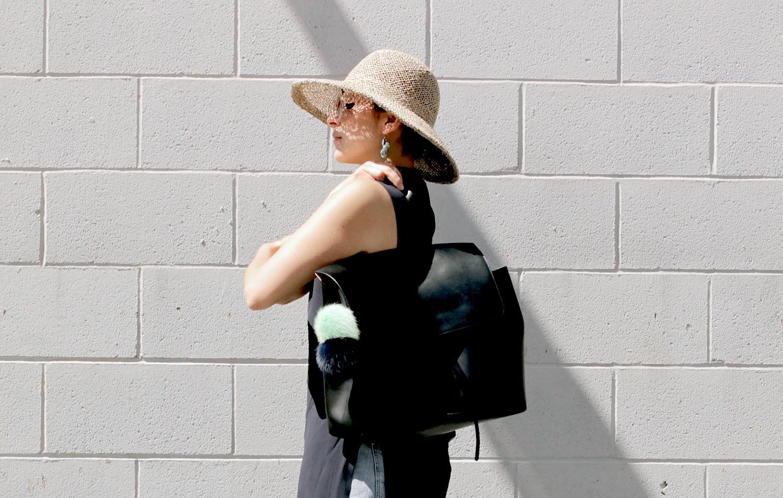 Mansur Gavriel Lady Bag, Clyde hat