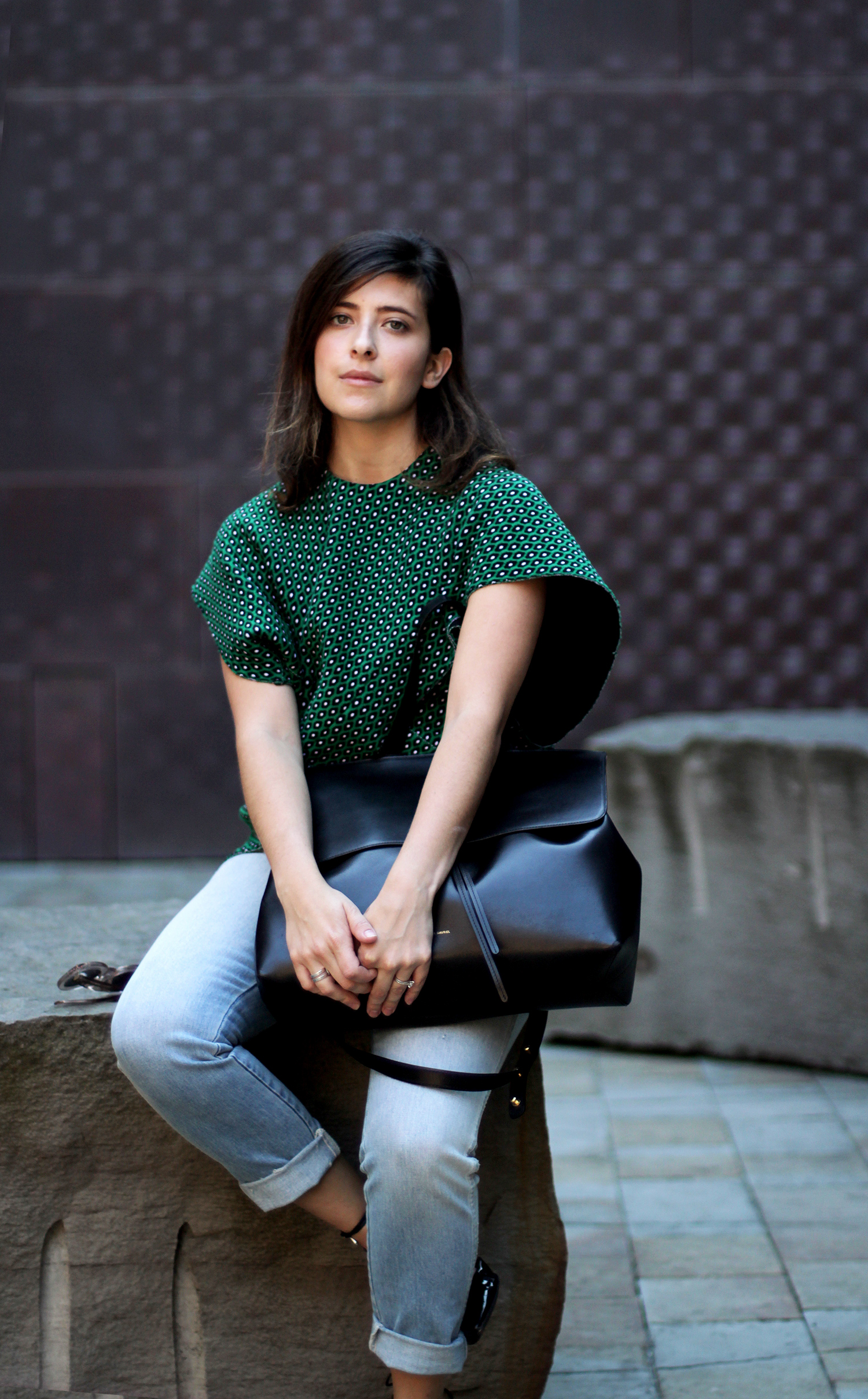Olga Montserrat | Marni, Mansur Gavriel, AMO jeans