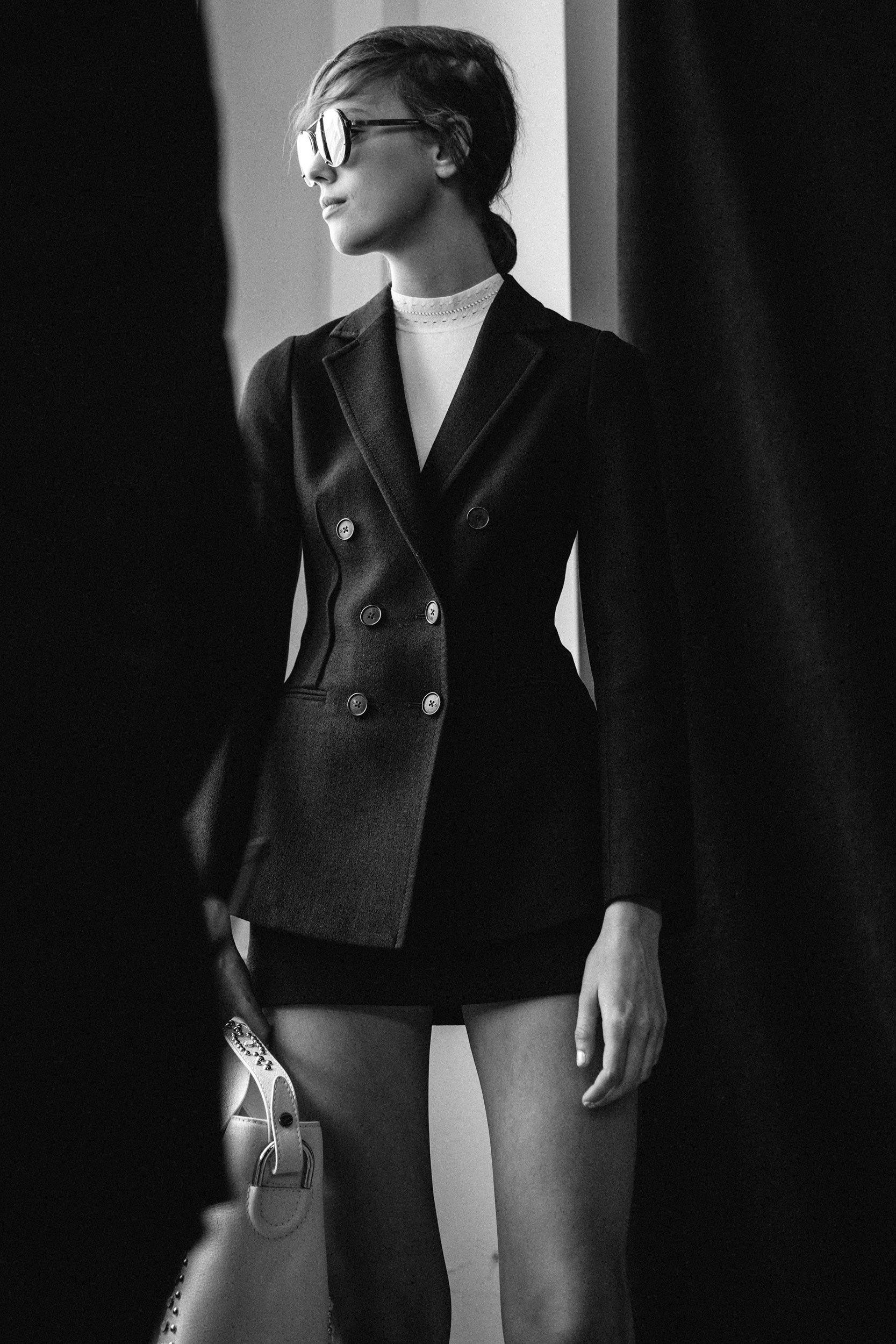 Phillip Lim, backstage via Vogue