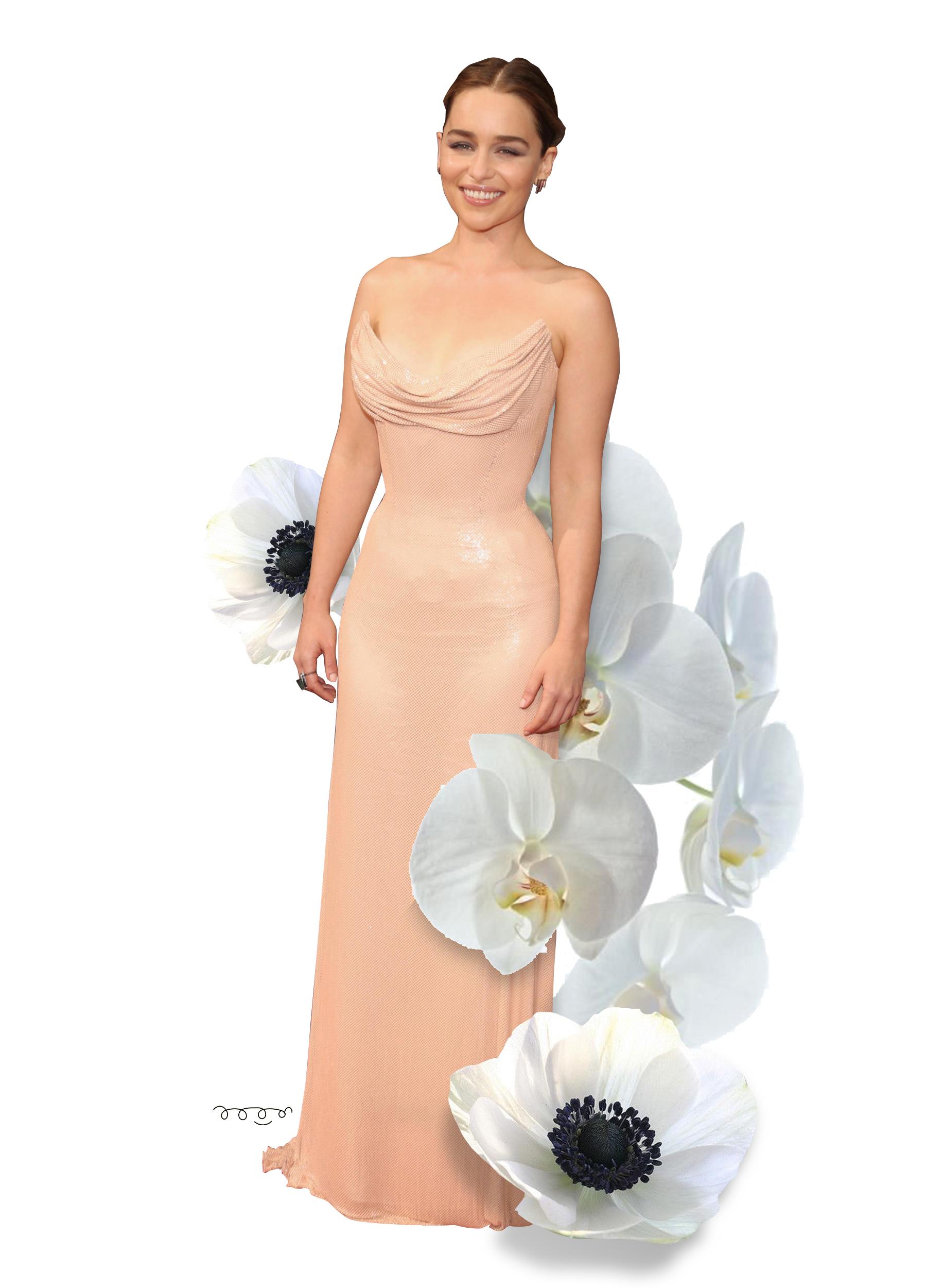 twelveofour.com | Emilia Clark, Atelier Versace