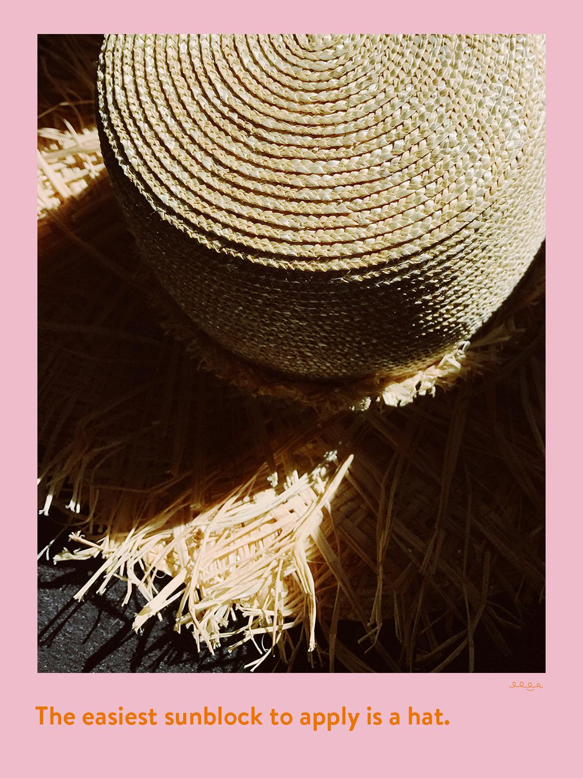 "Lola Hat ""Roadside"" hat, twelveofour.com"