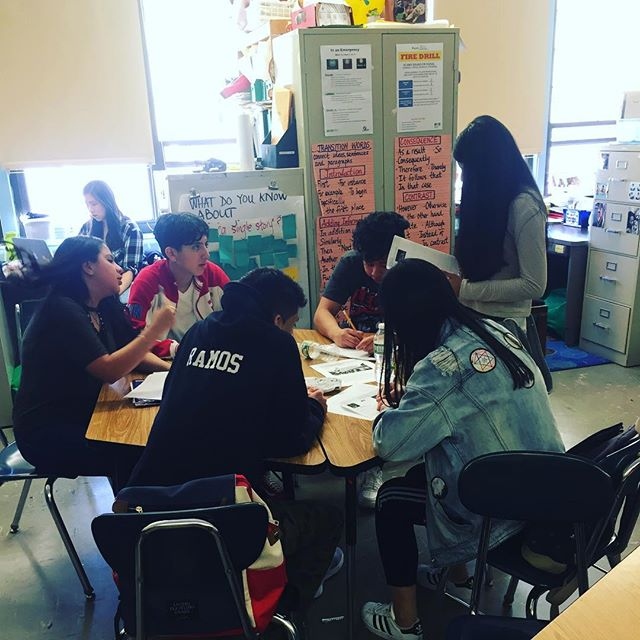 """Students focus on language & leadership in this """"tea party"""" activity where students introduce themselves as novel characters. #masterynyc"""