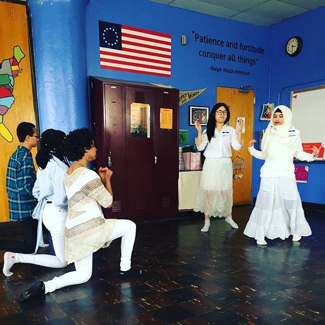 Portfolio presentations: a song, dance & speech, oh my! #interdisciplinary #projectbasedlearning #masterynyc