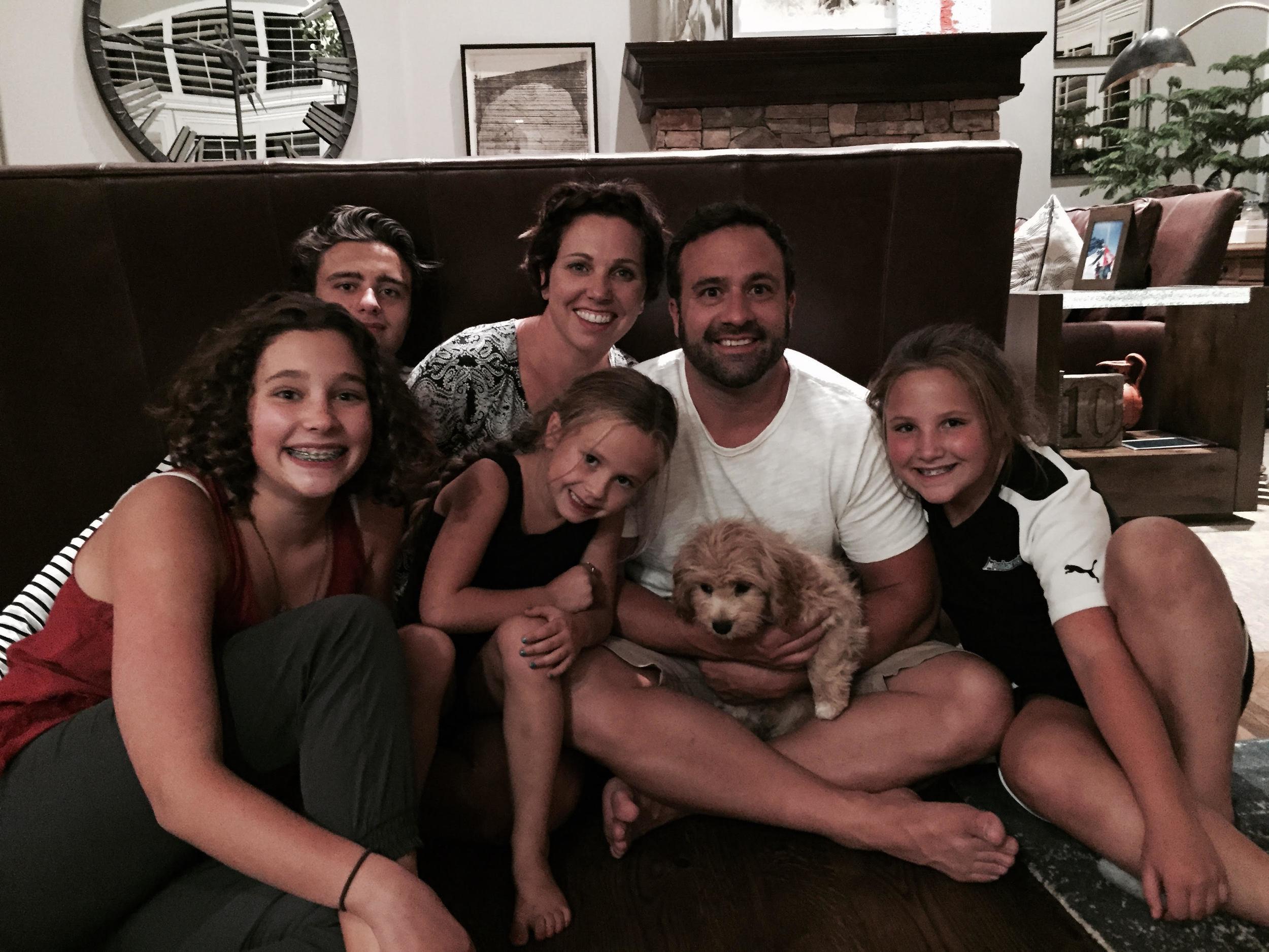 Cavapoo by Foxglove Farm with Family