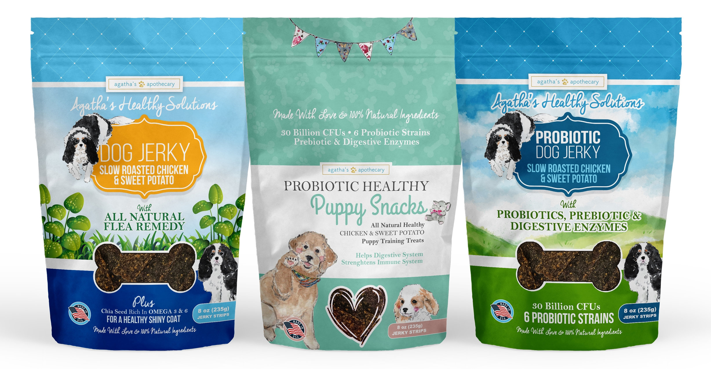 Agatha's Apothecary Healthy Dog Jerky Treats