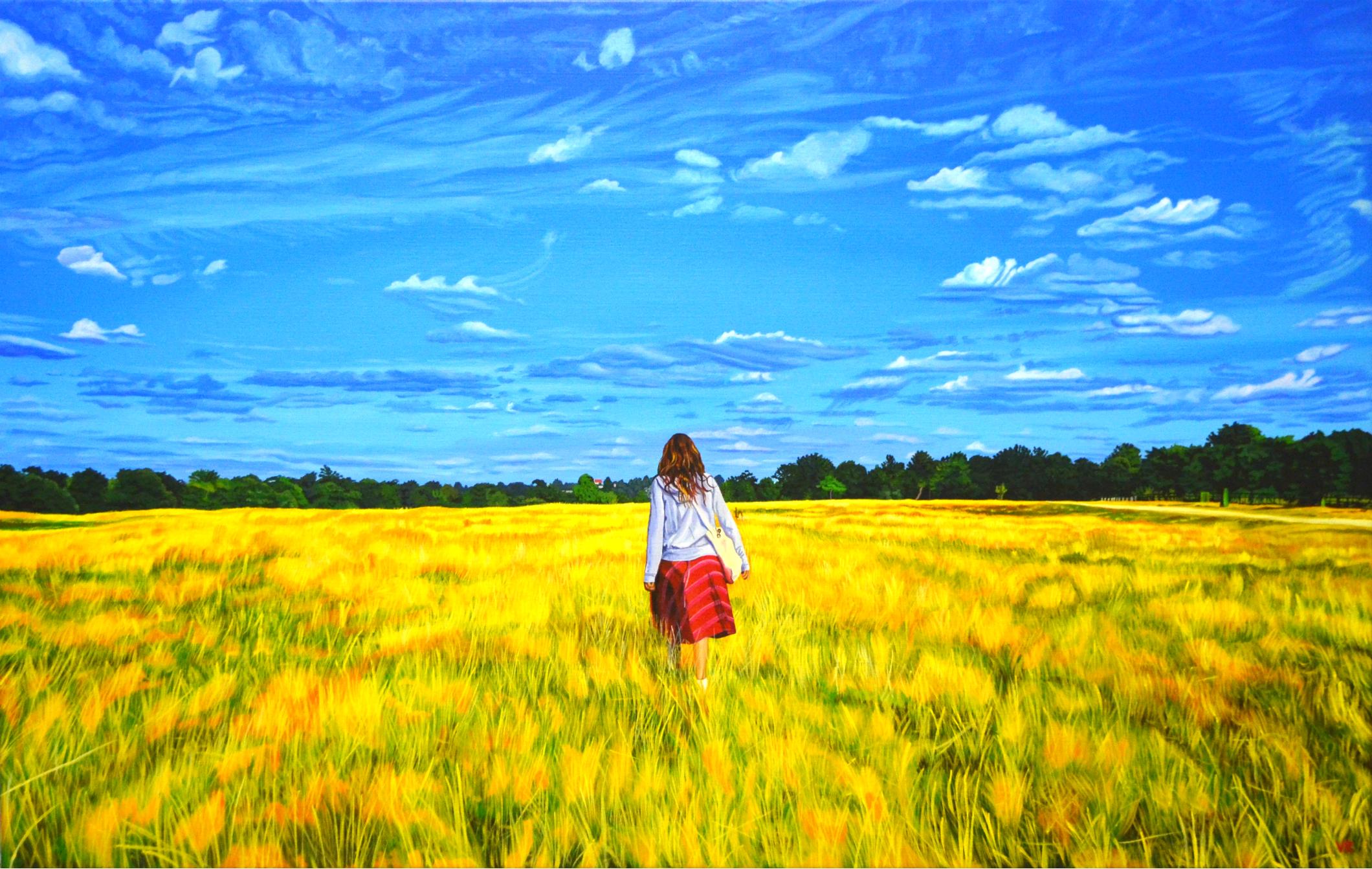 Ariela     36 x 60    acrylic on canvas