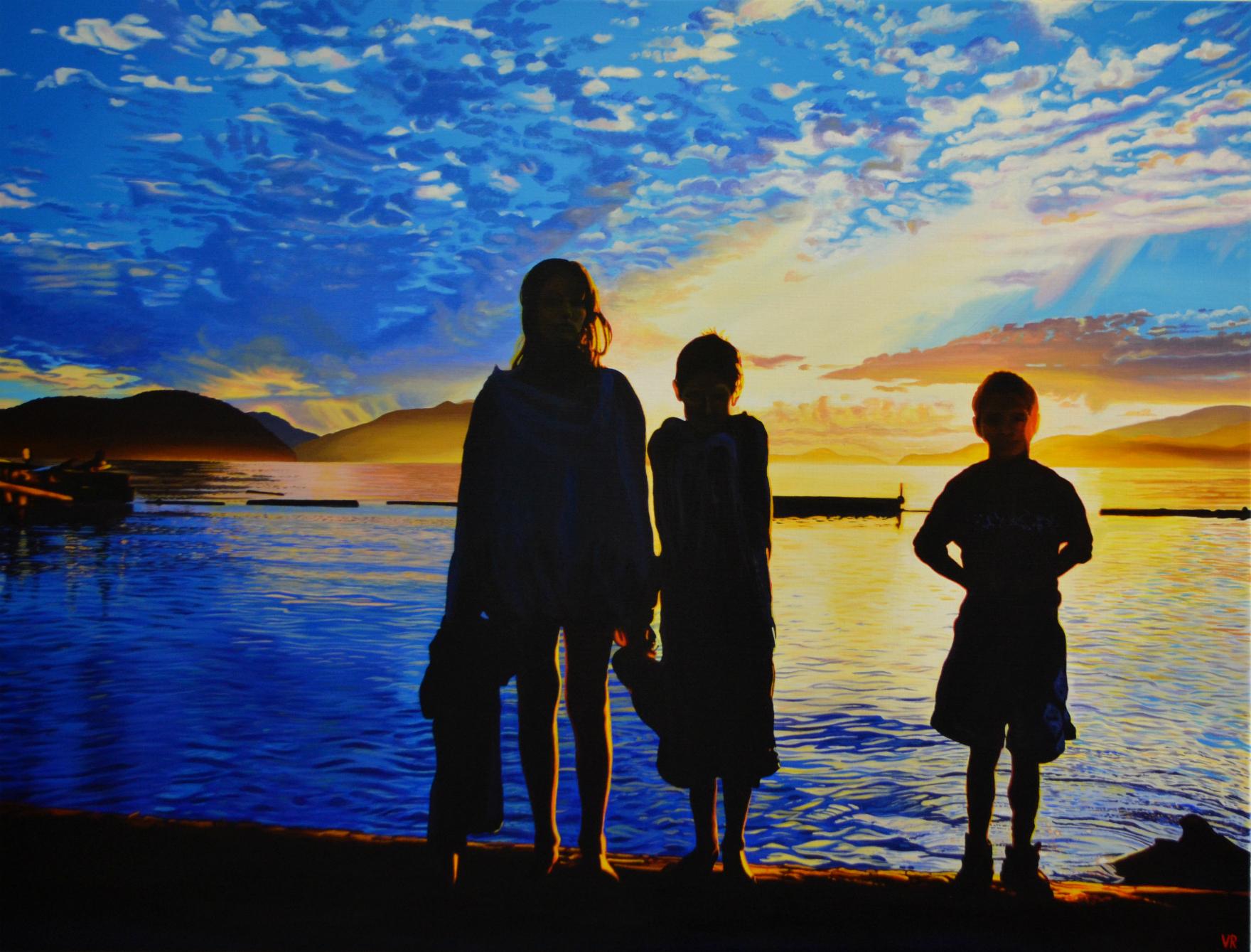 Our World    36 x 48    acrylic on canvas