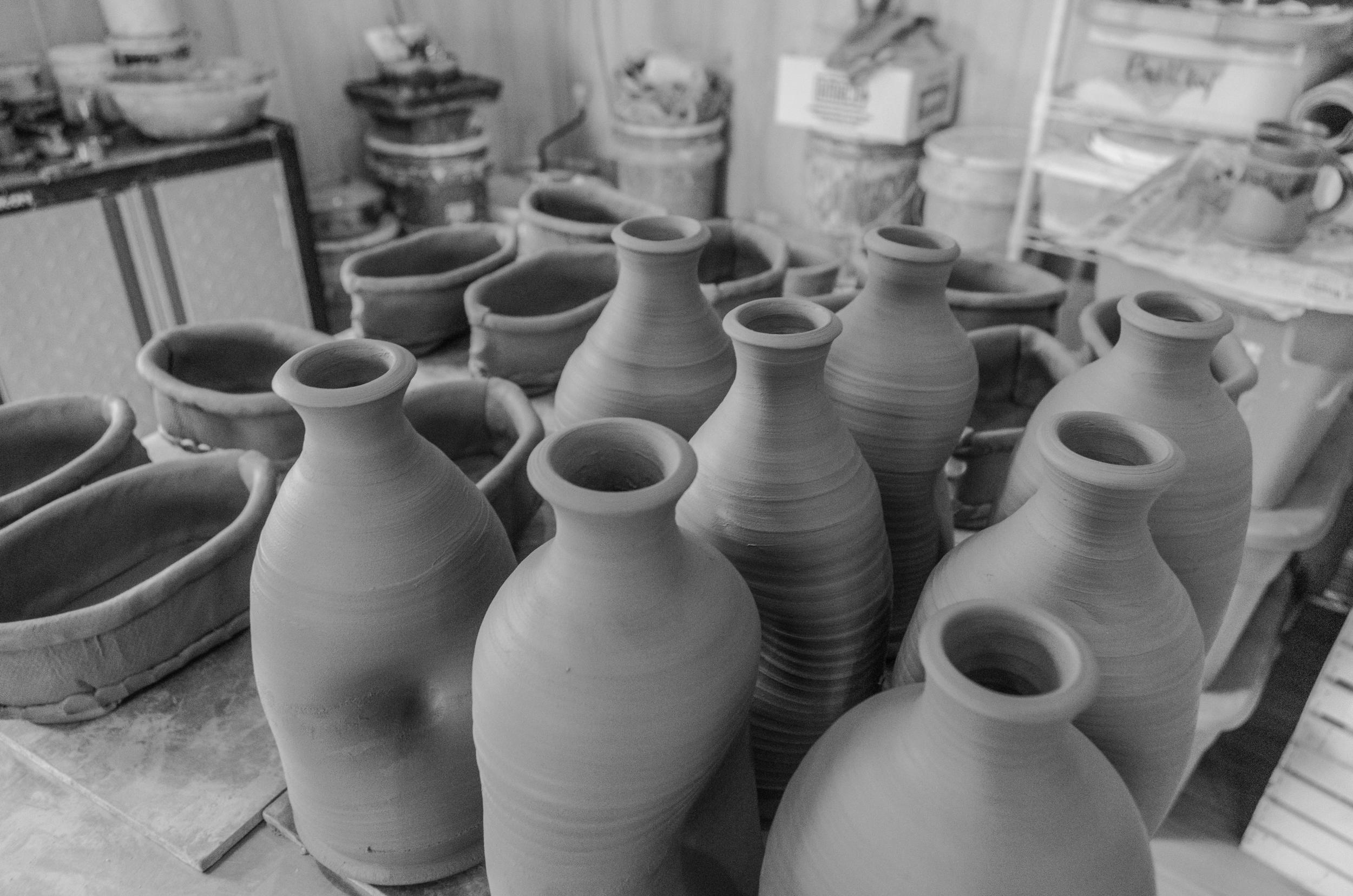Leather Hard Pots -gallery .jpg