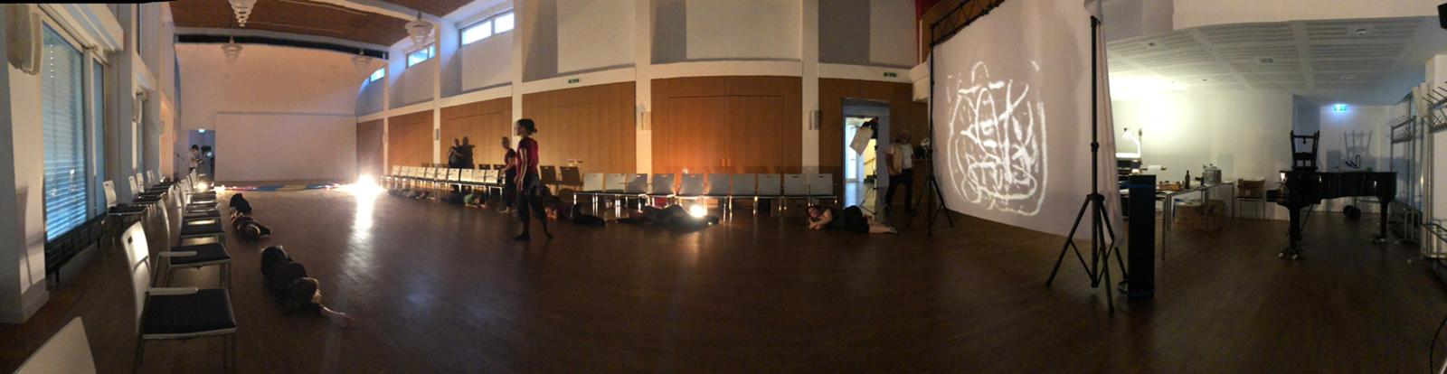 First Rehearsal in the Friedrich Naumann Saal