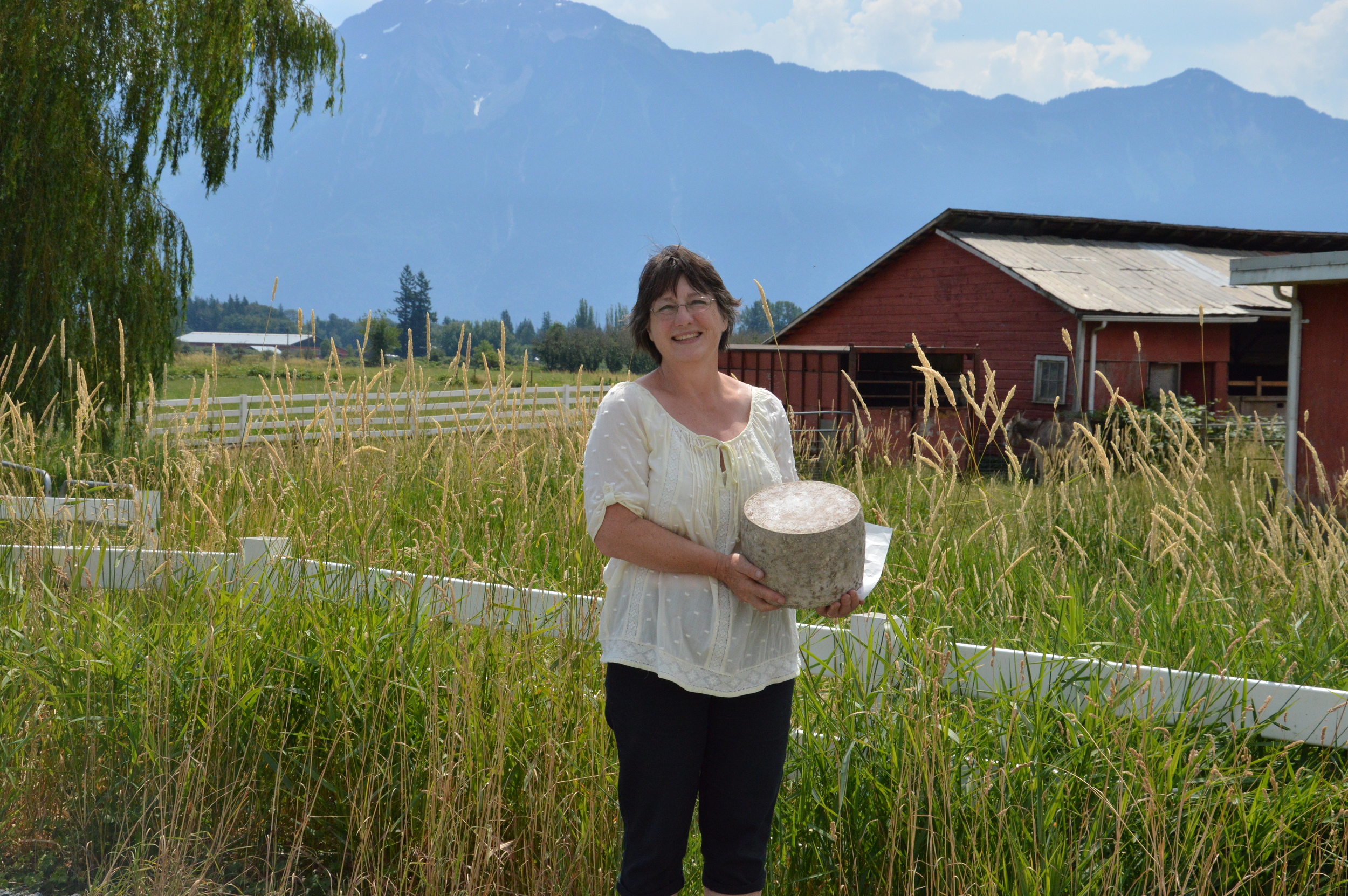 Debra Amrein-Boyes, award-winning cheese maker from Farmhouse Cheese.