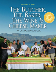 The original cookbook! A true about of love, the initial book was self-published by Schell. Her dream to feature the amazing people in her Okanagan community was realized in 2012.