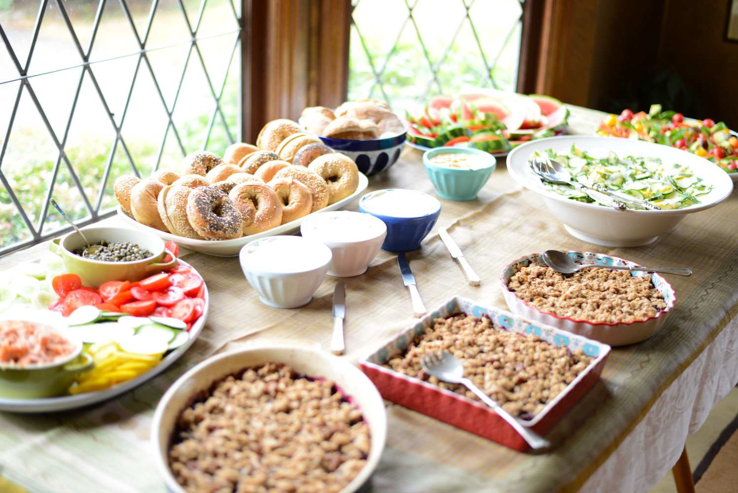 Tips and recipes for hosting a healthy baby shower brunch. Gluten-free and dairy-free friendly!