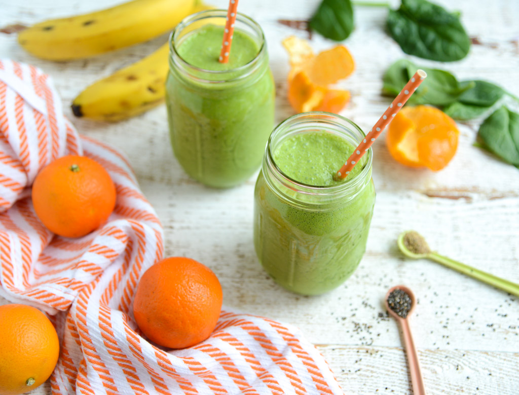 This bright, vibrant Revitalize Green Citrus Smoothie is packed with good-for-you ingredients, yet tastes like a a treat. Whip up a batch and start your morning refreshed and revitalized! Made with real food ingredients, and naturally gluten-free and dairy-free.