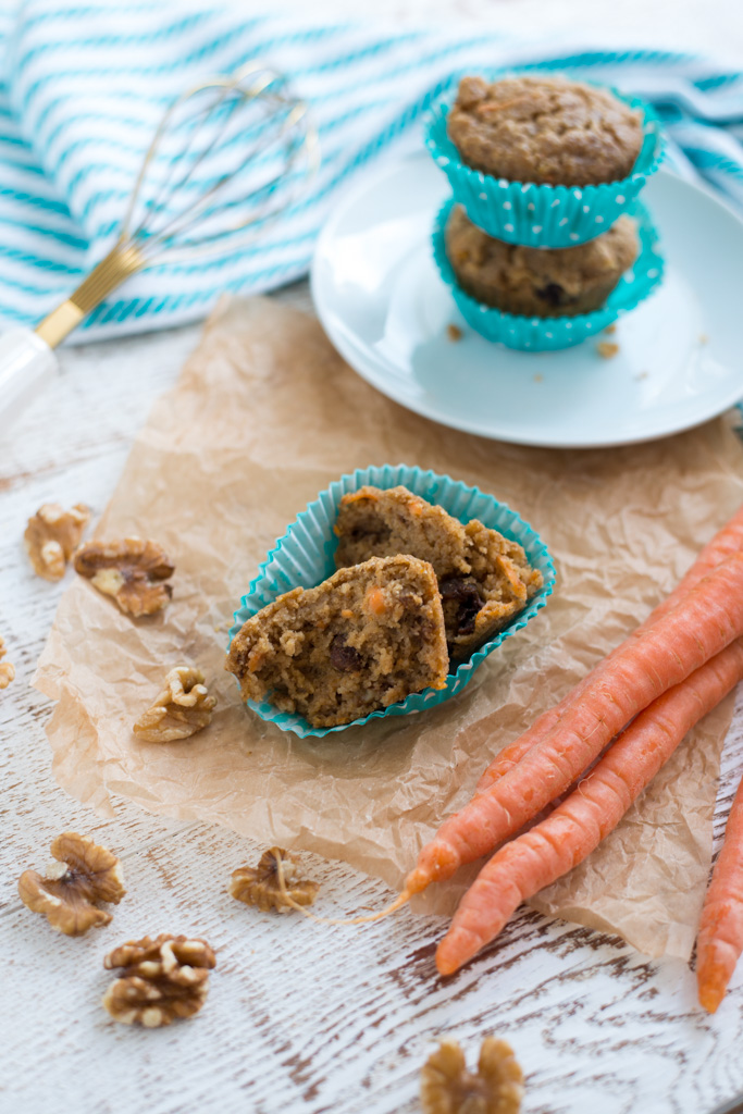 Wholesome, tender, and so delicious, One-Bowl Carrot Cake Muffins are naturally sweetened and full of all the good stuff. Grab a bowl and make these for a grab-and-go breakfast, snack or side!